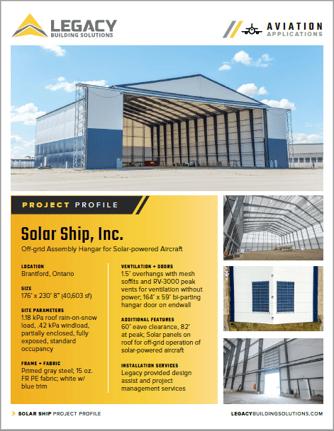 Solar Ship Case Study